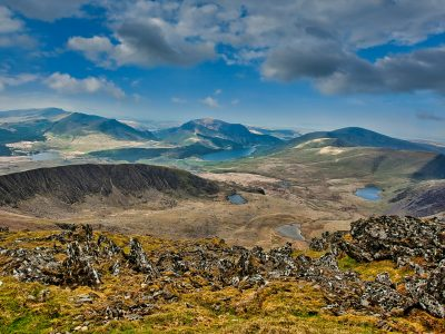 Where in Wales is Snowdonia?