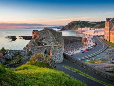 Where in Wales is Aberystwyth?