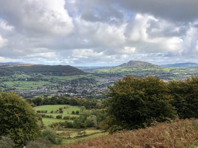 Where in Wales is Abergavenny?