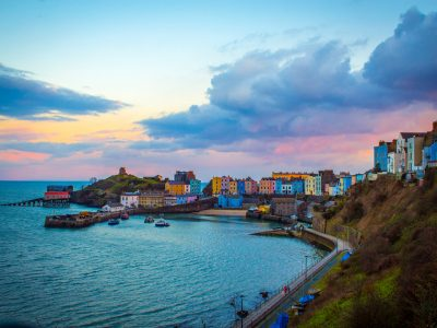 Where in Wales is Tenby?